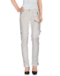 40Weft Trousers Casual Trousers Women White