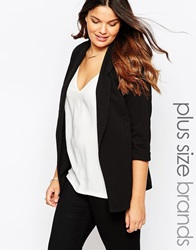 New Look Inspire Textured Blazer Black