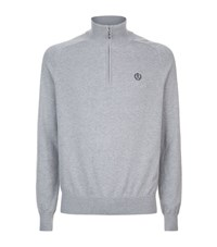 Henri Lloyd Half Zip Sweater Male Grey