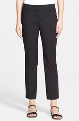 Women's St. John Collection 'Jennifer' Stretch Micro Ottoman Capri Pants
