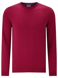 John Lewis Made In Italy Cashmere Crew Neck Jumper Pink