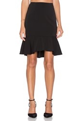 Minty Meets Munt Let It Flare Skirt Black