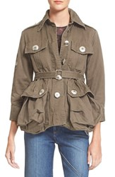 Marc By Marc Jacobs Women's Marc Jacobs Cotton Twill Military Jacket