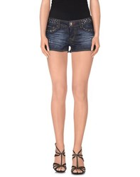 Philipp Plein Denim Denim Shorts Women