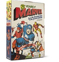 Taschen 75 Years Of Marvel Comics From The Golden Age To The Silver Screen Hardcover Book Blue