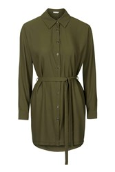 Khaki Shirt Dress By Love