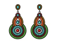 Gypsy Soule De554 Multi Earring