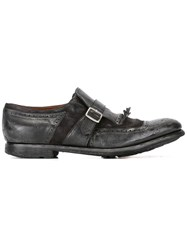 Church's 'Shanghai' Monk Shoes Black