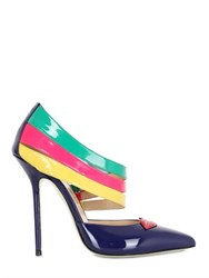Giannico 110Mm Rainbow Patent Pumps For Lvr