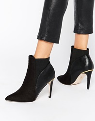 Lipsy Bailey Heeled Ankle Boots Black