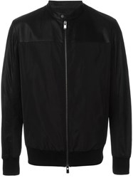 Drome Panelled Zip Jacket Black