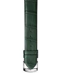Philip Stein Teslar Philip Stein Alligator Print 18Mm Watch Strap Green