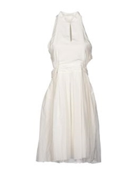 Boy By Band Of Outsiders Knee Length Dresses White