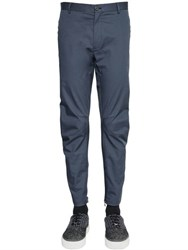 Lanvin 16Cm Cotton Gabardine Biker Pants