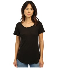 Culture Phit Benadette Short Sleeve Top With Pocket Black Women's Clothing
