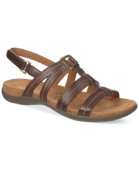 Naturalizer Every Flat Sandals Women's Shoes Bridal Brown