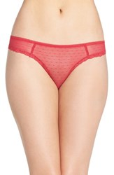 Chelsea 28 Women's Chelsea28 'She Knows It' Thong Red Barberry