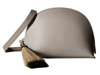 Loeffler Randall Crossbody Pouch Dove Grey Natural Black Cross Body Handbags Gray