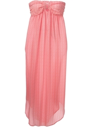 Melissa Odabash 'Mia' Dress Pink And Purple