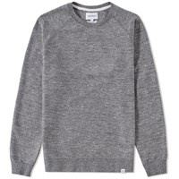 Norse Projects Ketel Mouline Crew Sweat Grey