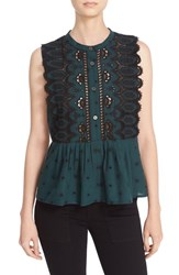 Sea Women's Embroidered Sleeveless Top
