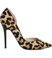 Office Natalie Dorsay Leathers Courts Leopard Pony