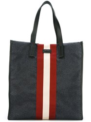 Bally 'Raami' Tote Bag Blue