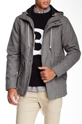 Barney Cools Anorak Coat Gray