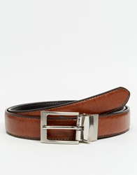 New Look Formal Reversible Belt Brown