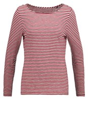 Marc O'polo Long Sleeved Top Combo Red