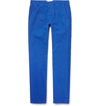 Band Of Outsiders Slim Fit Cotton Chinos Blue