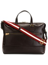 Bally Large 'Thelar' Briefcase Brown