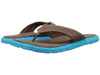 Speedo Upshifter Brown Blue Men's Sandals