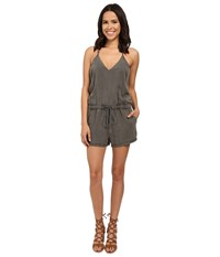 Blank Nyc Short Romper Olive Green Women's Jumpsuit And Rompers One Piece