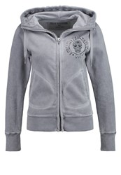 True Religion Tracksuit Top Frost Grey