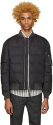 Nanamica Reversible Black Na 1 Down Jacket