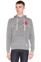 Altru Mountains And Sun Hoodie Gray