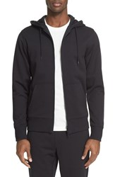 Y 3 Men's French Terry Full Zip Hoodie Black