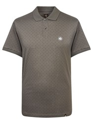 Pretty Green Polka Dot Polo Charcoal