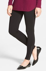 Women's Nordstrom Zip Detail Leggings Black
