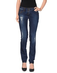 Who S Who Denim Denim Trousers Women Blue