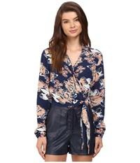 Lovers Friends Valley Top Carmel Floral Women's Clothing Multi