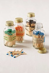 Urban Outfitters Safety Matches Jar Black