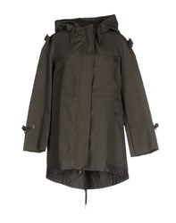 Red Valentino Redvalentino Coats And Jackets Jackets Women Military Green