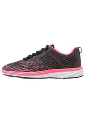 Evenandodd Active Sports Shoes Black Pink Multicoloured