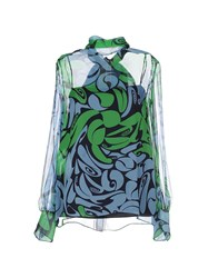 Miu Miu Shirts Shirts Women Green