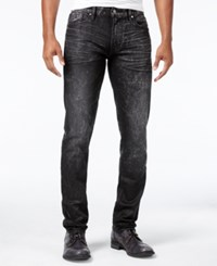 Guess Men's Slim Fit Tapered Stretch Jeans Grey