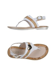 Alviero Martini 1A Classe Thong Sandals