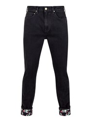 House Of Holland Lee Rocket Cuff Jeans Black