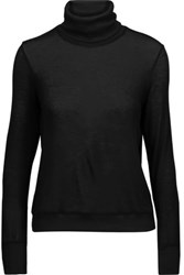 Kain Label Creyton Stretch Modal Turtleneck Sweater Black